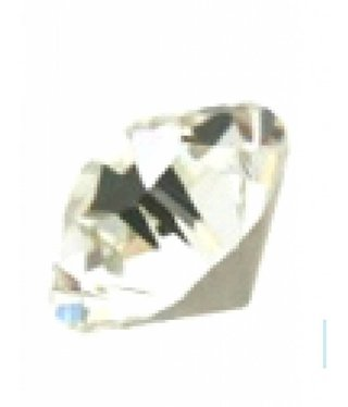 1028 Swarovski Chaton Pointed Back SS29 - Crystal