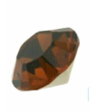 1028 Swarovski Chaton Pointed Back SS29 - Smoked Topaz