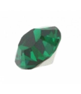 1028 Swarovski Chaton Pointed Back SS39 - Emerald