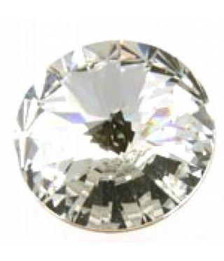 1122 Swarovski Rivoli Pointed Back SS29 - Crystal