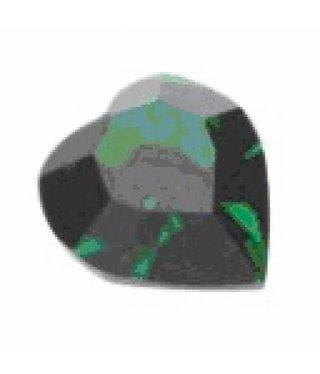 4800 Swarovski Heart - Emerald