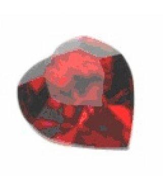 4800 Swarovski Heart - Light Siam