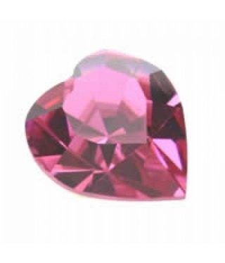 4800 Swarovski Heart - Rose