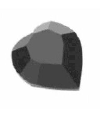 4800 Swarovski Heart - Jet