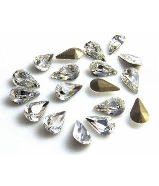 4300 Swarovski Pearshape - Crystal