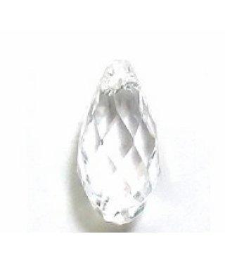 6010 Swarovski Briolette Pendant - Crystal