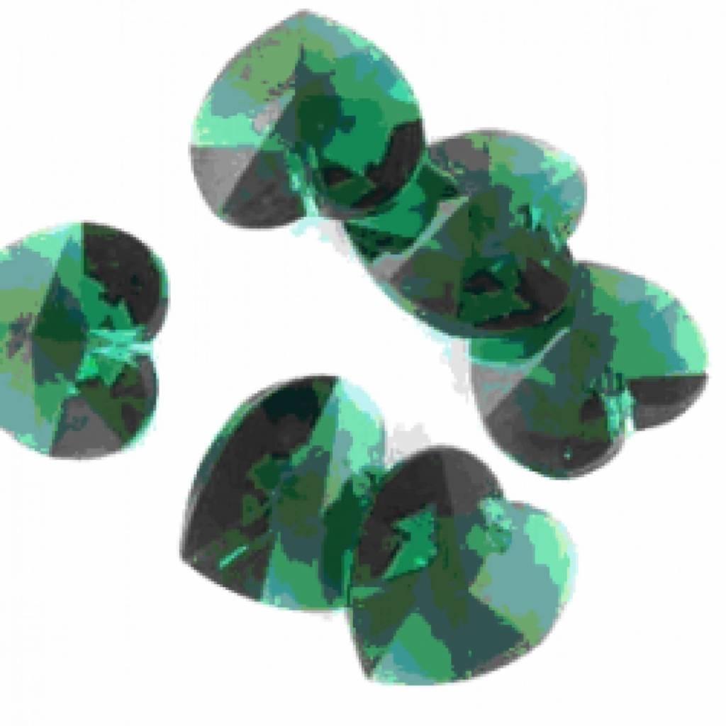 6202 Swarovski Hart Hanger - Emerald