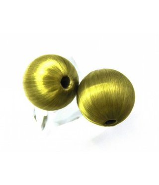 Textile Bead - Green