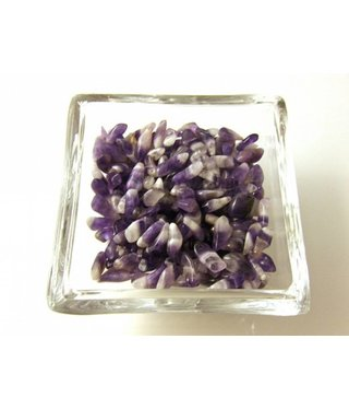 Amethyst Chips - Purple/White