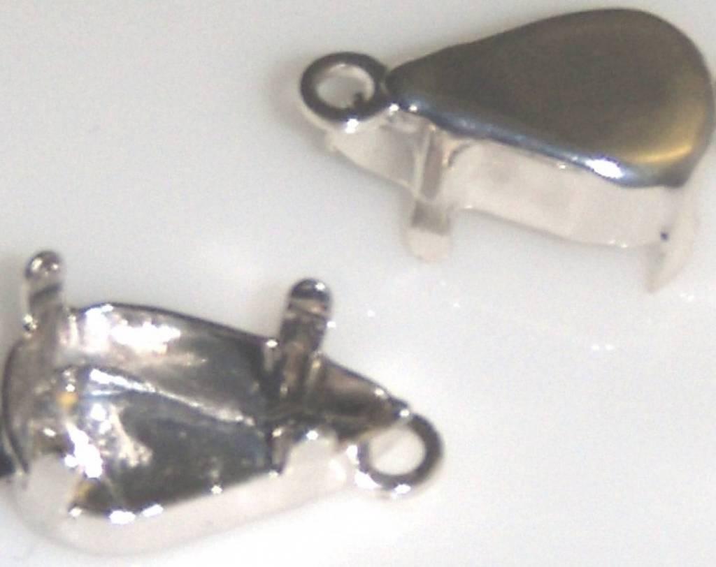 Kastje met 1 oog voor Pearshape 4300
