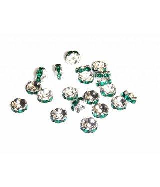 Rondelle - Smaragd Groen
