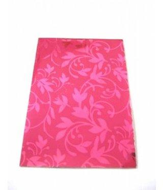Geschenkzakjes Ornament Pink - 5 stuks