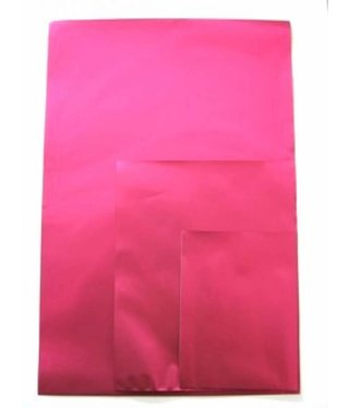 Gift bag Metallic Fuchsia - 5 pieces