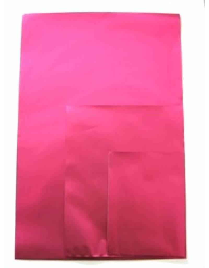 Gift bag Metallic Fuchsia - 5 pieces