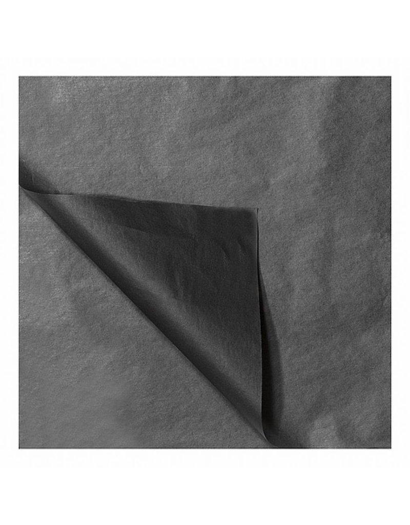 Zijdevloeipapier Zwart