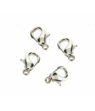 Lobster Clasp 13 mm - NPL - 4 pieces