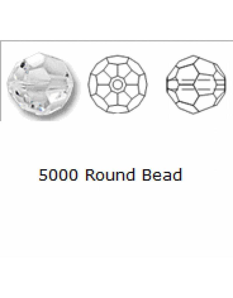 5000 Swarovski Faceted Round Beads - Montana
