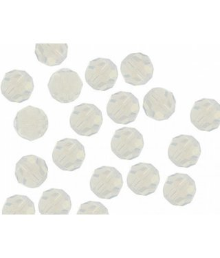 5000 Swarovski Faceted Round Beads - White Opal