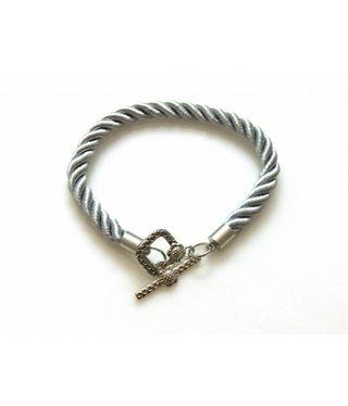 Bracelet Cord - Silvergrey - 3 pieces