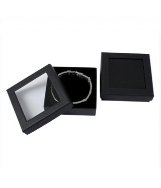 Bracelet Box with window - 6 pieces