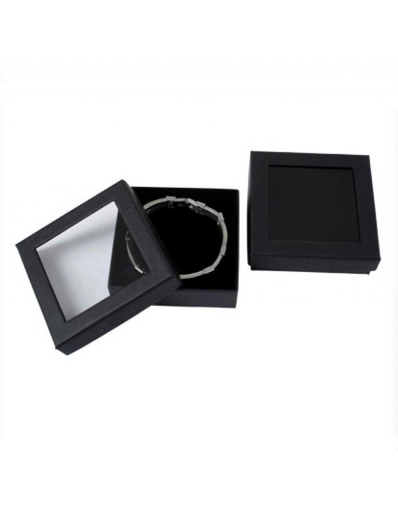 Bracelet Box with window - 6 pieces