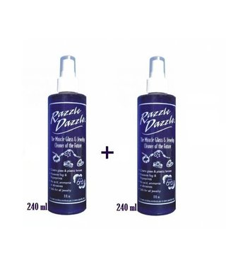 Razzle Dazzle Jewelry Cleaner and Protector - 2 x 240 ml