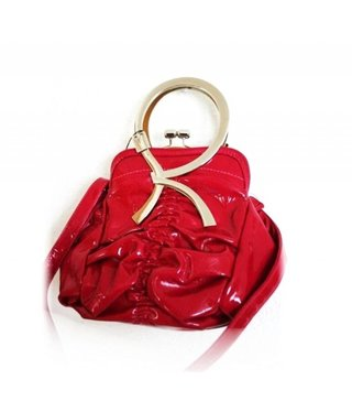 Rose Red Trendy Handbag