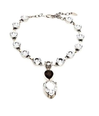 Bijou Gio Design™ Necklace Brown Crystal