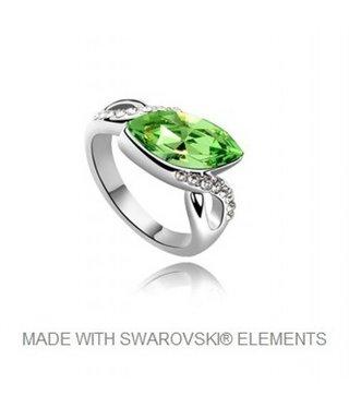 Ring met Swarovski Elements