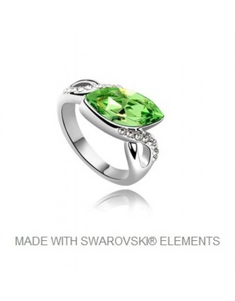 Ring met Swarovski Elements