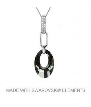 Hanger met Swarovski Elements en Ketting