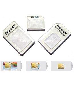 Noosy Noosy SIM Adapter Kit 3 pack