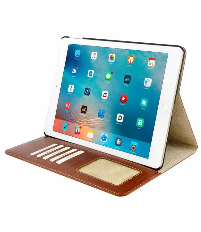 Mobiparts Mobiparts Excellent Tablet Case Apple iPad Air 2 / Pro 9.7 Oaked Cognac