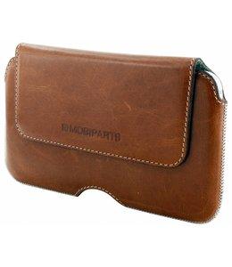 Mobiparts Excellent Belt Case Size 4XL Oaked Cognac