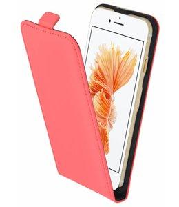 Mobiparts Mobiparts Premium Flip Case Apple iPhone 7/8/SE (2020) Peach Pink