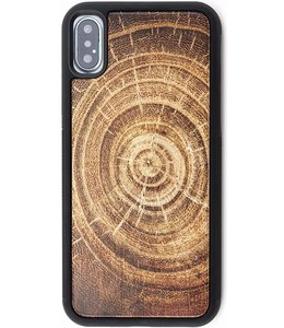 Reveal Reveal Tree Ring Wood Case Apple iPhone X/XS