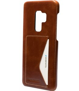Mobiparts Mobiparts Excellent Backcover Samsung Galaxy S9 Plus Oaked Cognac