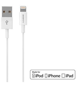 Mobiparts Mobiparts Apple Lightning to USB Cable 2A 50 cm White