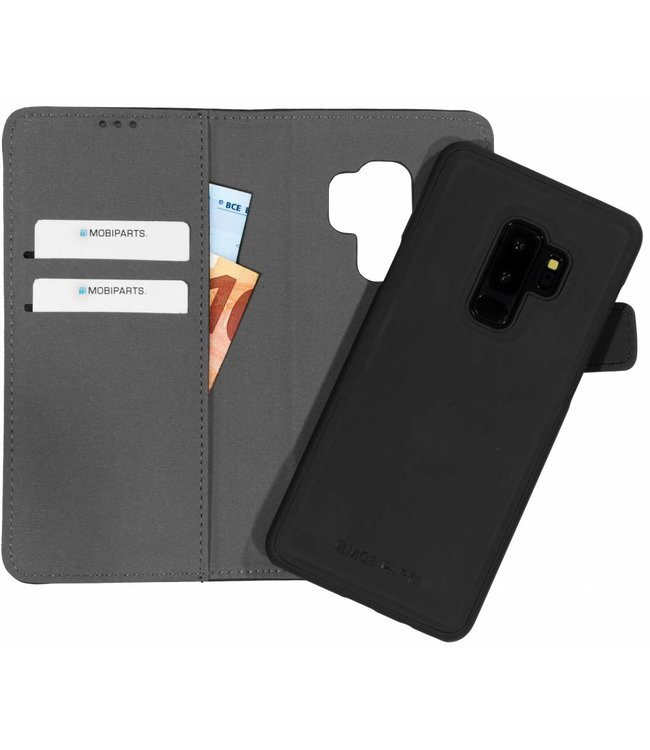 Mobiparts Mobiparts 2 in 1 Premium Wallet Case Samsung Galaxy S9 Plus Black