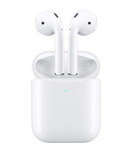 Apple Airpods 2 (2019) incl Wireless Charging Case White MRXJ2ZM/A.