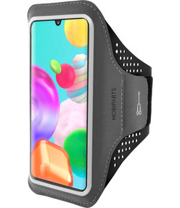 Mobiparts Mobiparts Comfort Fit Sport Armband Samsung Galaxy A41 (2020) Black