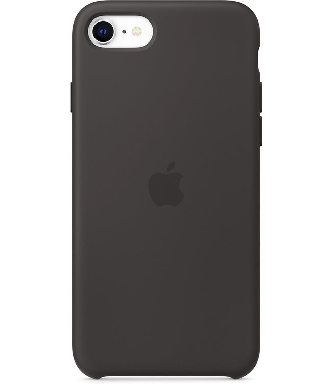 Apple Apple iPhone 6/6S/7/8/SE (2020) Silicone Case Black MXYH2ZM/A