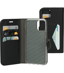 Mobiparts Mobiparts Classic Wallet Case Apple iPhone 12/12 Pro Black