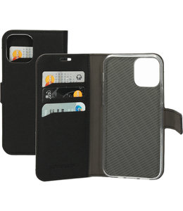 Mobiparts Mobiparts Saffiano Wallet Case Apple iPhone 12/12 Pro Black