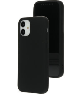 Mobiparts Mobiparts Silicone Cover Apple iPhone 12 Mini Black