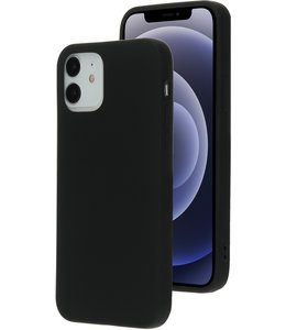 Mobiparts Mobiparts Silicone Cover Apple iPhone 12/12 Pro Black