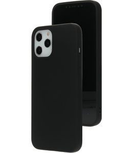 Mobiparts Mobiparts Silicone Cover Apple iPhone 12 Pro Max Black