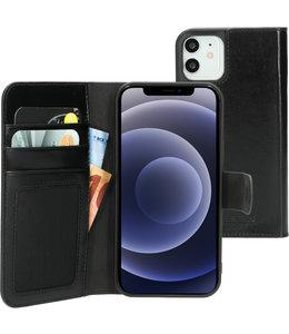 Mobiparts Mobiparts Excellent Wallet Case 2.0 Apple iPhone 12/12 Pro Jade Black