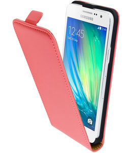 Mobiparts Mobiparts Premium Flip Case Samsung Galaxy A3 Peach Pink