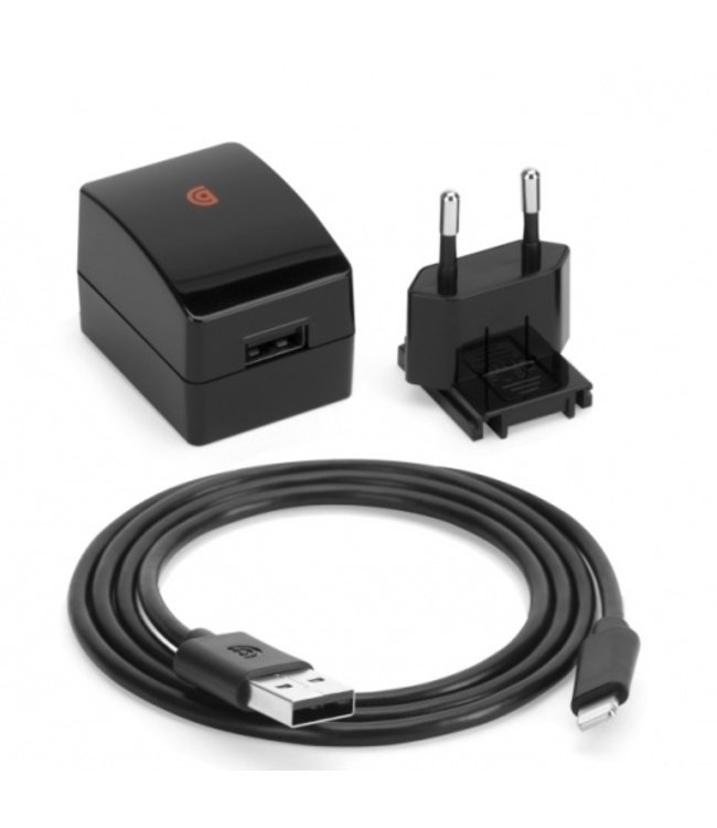 Griffin Griffin PowerBlock Wall Charger Lightning 2.4A 12W Black 90cm GA40613